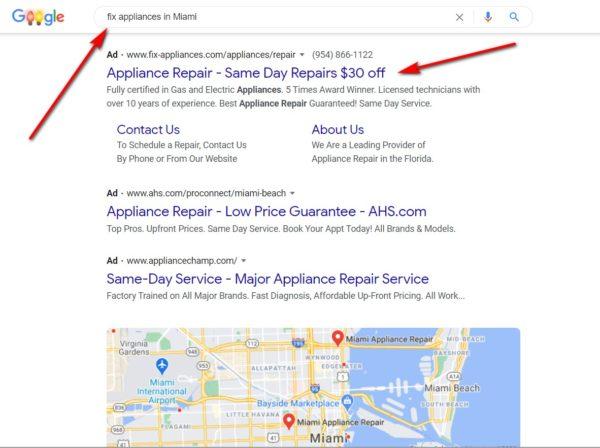 Fix Apliances in Miami